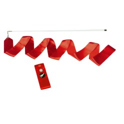Sport-Thieme® Competition Gymnastics Ribbon Red Competition, 6 m long