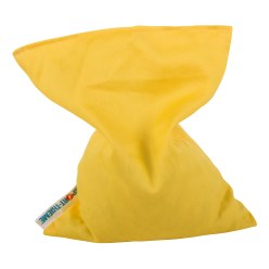 Sport-Thieme® Washable Beanbags Yellow, 120 g, approx. 15x10 cm