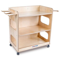 Sport-Thieme® Storage Trolley Trolley including contents