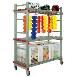 REA Plastic Combi Equipment Trolley