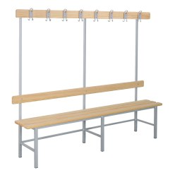 "Sport-Thieme® ""Style B"" Changing Room Bench"