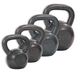 Sport-Thieme® Hammer Finish Kettlebell Set