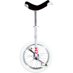 "OnlyOne ""Indoor"" Unicycle 16-inch tyre (ø 41 cm), white frame"