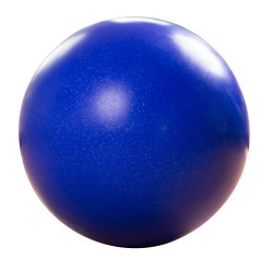 Balance Ball ø approx. 60 cm, 12 kg, Dark blue with silver glitter