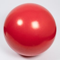 Balance Ball Red with silver glitter, ø approx. 70 cm, 15 kg