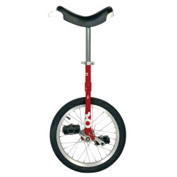 "OnlyOnle ""Outdoor"" Unicycle 16-inch, 28 spokes, red"