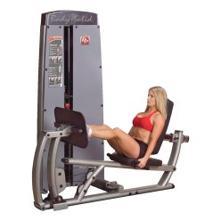 "Body-Solid ""Pro Dual"" Leg Press and Calf Machine 95 kg weight block"