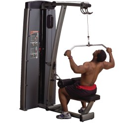"Body-Solid ""Pro Dual"" Lat Pulldown and Rowing Machine"