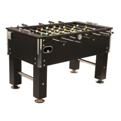 """Black Soccer"" Football Table"