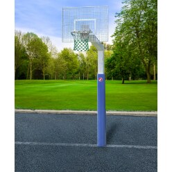 "Sport-Thieme ""Fair Play Silent"" with Hercules-Rope Net Basketball Unit"