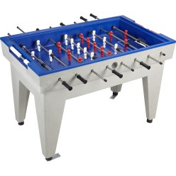 Acrylic Concrete Table Football Table Green