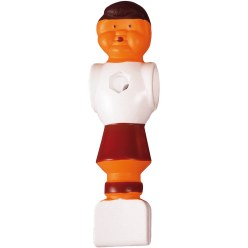 Table Football Figures White/red