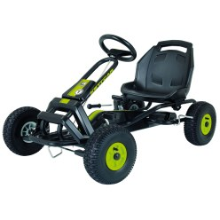 "Kettler® ""Barcelona Air"" Kettcar Black/green"
