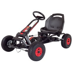 "Kettler® ""Barcelona Air"" Kettcar Black/red"