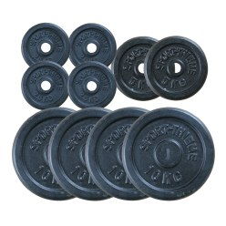 60kg Cast Iron Weight Disc Set