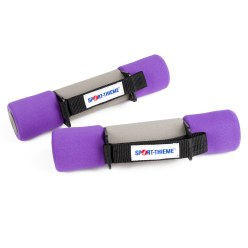 Aerobics Dumbbells 2 kg, purple