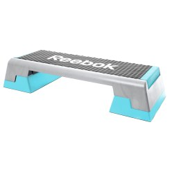 Reebok® Aerobic stepper Semi-professional, grey/cyan