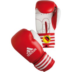 "Adidas® ""Ultima Rigid Cuff"" Competition Boxing Gloves Red, 12 oz."