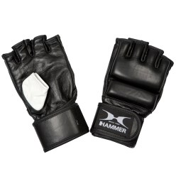 Hammer® Boxing Gloves with Open Fingers S-M