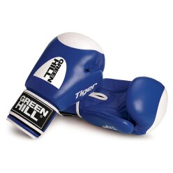 "Green Hill® ""Tiger"" Boxing Gloves 10 oz., blue"