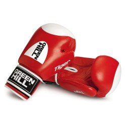 "Green Hill® ""Tiger"" Boxing Gloves 10 oz., red"