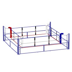 Sport-Thieme Boxing Ring, collapsible