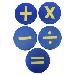 "Ground Markers ""Maths symbols"""