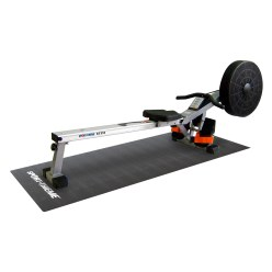 """Sport-Thieme® """"ST 310"""" Rowing Machine with Floor Protection Mat"""