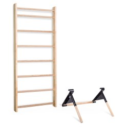 Sport-Thieme® Wall Bars with Pull-Up/Dips Bar