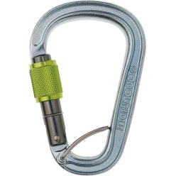 "Edelrid ""Bruce Steel FG"" Pear-Shaped Carabiner"