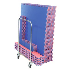 Set of Mats with Transport Trolley
