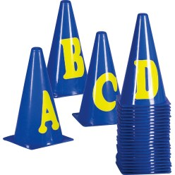 Marking Cones Numbers 0-10
