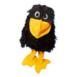 Crow Hand Puppet