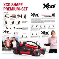 XCO Aluminium Premium Set incl. 2 training programmes on DVD