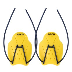 Beco® Hand Paddles Size S, 18x13 cm, yellow