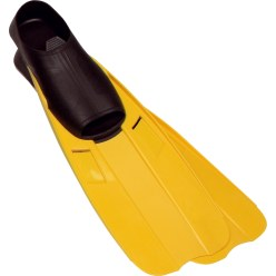 Sport-Thieme® 'Power Safe' Swimming Flippers Size XL = 45-47, yellow