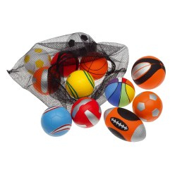 Sports Balls PU Foam Ball Set