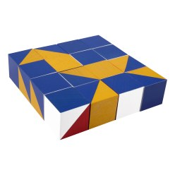 Nikitin N1 Patterned Cubes