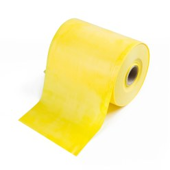 TheraBand Roll of Exercise Band in 45.5 m length Yellow, low