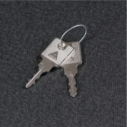 Replacement Key for Double Storage Cabinets