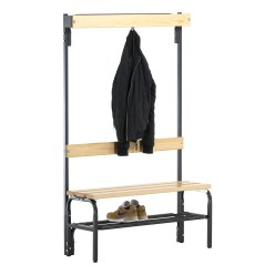 Sypro Wolf® Dry Area Changing Bench with Backrest