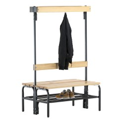 Sypro Wolf® Dry Area Changing Bench with Double-Sided Backrest