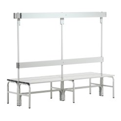 Sypro Wolf® Wet Area Changing Benches with Double Backrest