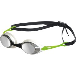 "Arena® ""Cobra Mirror"" Swimming Goggles Smoke/silver/green"