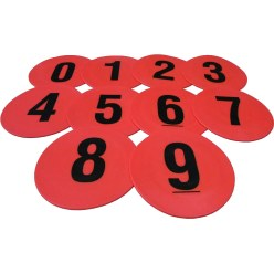 Set of 0-9 Ground Markers