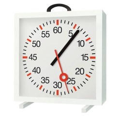 Training Clock with Minute and Second Hands