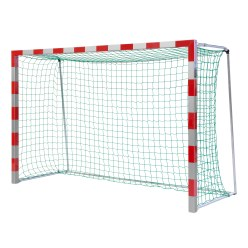 Sport-Thieme 3x2 m, Free-Standing, With folding net brackets Handball Goal