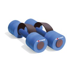 "Sport-Thieme® ""Sportime"" Aqua Jogging Dumbbells with Holding Strap Junior length: approx. 28 cm, ø 9 cm"