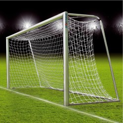 Fully Welded Youth Football Goal, 5x2 m. with Ground Frame