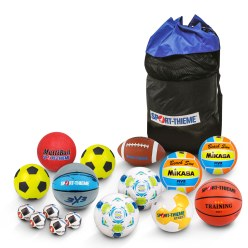 Sport-Thieme® Break Time Set II, Balls in Bag